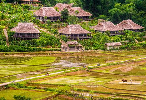 Circuit dans le Nord-Ouest du Vietnam en 6 Jours